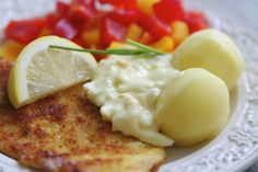 panerad Swedish Recipes, Tisdag, Fish And Seafood, Food Photography, Deserts, Cooking, Breakfast, Foods, Traditional