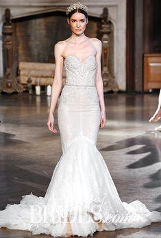Brides: Inbal Dror Wedding Dresses   Fall 2015   Bridal Runway Shows   Brides.com | Wedding Dresses Style