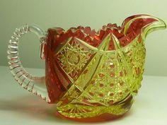 VSL cremier cristal urane doublé rouge - 1908.