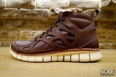 Nike Free Run 2 Sneakerboot Leather
