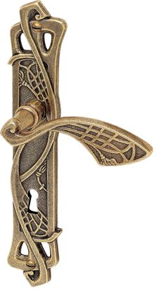 Art Deco Lever Handle