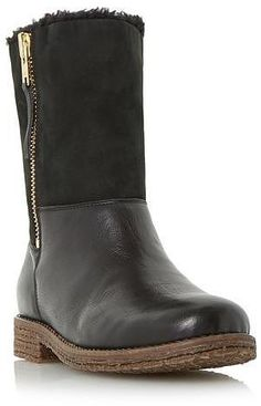 Womens black russell from Dune - £119 at ClothingByColour.com