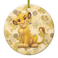 Simba Christmas Ornament