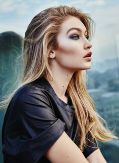 Gigi Hadid for Maybelline New York 2016.