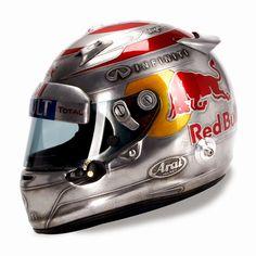 Vettel's USGP Helmet