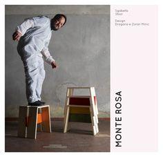 recession design stool.