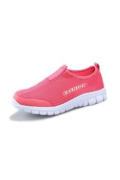 Women Breathable Mesh Net Cloth Casual Shoes Sport Slip-Ons Shoes Casual Loafers 35 (Watermelon Red) | Price: ฿765.00 | Brand: Unbranded/Generic | From: Top Seller Shoes - รวมรองเท้าแฟชั่น รองเท้าผู้ชาย รองเท้าผู้หญิง ราคาพิเศษ | See info: http://www.topsellershoes.com/product/20351/women-breathable-mesh-net-cloth-casual-shoes-sport-slip-ons-shoes-casual-loafers-35-watermelon-red