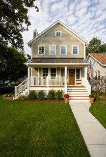 Addition to a 720 square foot home - Contemporary Farmhouse