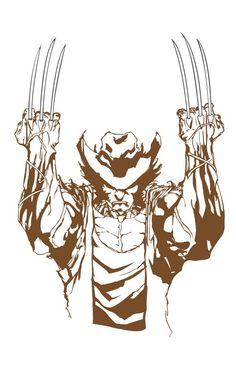 Wolverine He was always my favorite :) I like Hugh Jackman as the Modern Wolverine, the old comic's costume never settled right with me