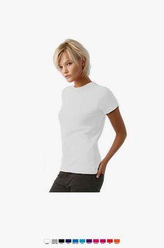 URID Merchandise -   T-SHIRT B&C EXACT 190 WOMEN BRANCO   3 http://uridmerchandise.com/loja/t-shirt-bc-exact-190-women-branco/ Visite produto em http://uridmerchandise.com/loja/t-shirt-bc-exact-190-women-branco/