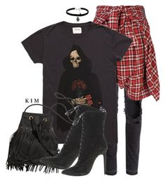Untitled #3153 by kimberlythestylist on Polyvore featuring polyvore fashion style R13 H&M Natalie B clothing