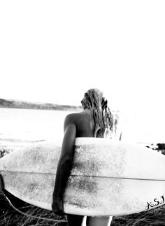 I used to surf a lot. My husband was a surfer. When I met him in 1966 he had a Velzy long board! (Dale Velzy)
