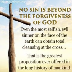 no sin is beyond the forgiveness of God. even the most selfish, evil sinner on the face of the earth can obtain total cleansing at the cross. Biblical Quotes, Bible Verses Quotes, Bible Scriptures, Faith Quotes, Prayer Verses, Jesus Is Lord, Jesus Christ, Savior, King Jesus