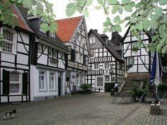 Tuchmacherplatz Essen Kettwig Deutschland