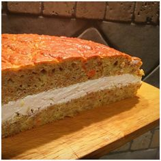 Carrot Cake, Meatloaf, Sugar Free, Banana Bread, Carrots, Sandwiches, Desserts, Food, Cream