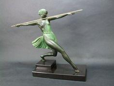 Sheryls Art Deco Emporium - Female Spelter Figures