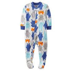 Carter's Monster Fleece Sleep & Play - Baby