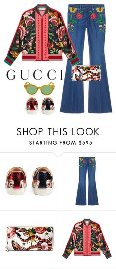 """Presenting the Gucci Garden Exclusive Collection: Contest Entry"" by patricia-dimmick on Polyvore featuring Gucci and gucci"