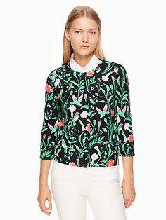 jardin cardigan | Kate Spade New York