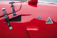 1967 Alfa Romeo Tz2 Zagato Coupe Side Emblems - Car photographs  by Jill Reger
