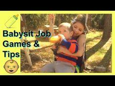 Babysitter Job Games and Tips for Babysitting - YouTube