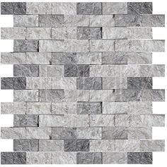 Plata splitface mosaic 2,3x4,8 cm (DLT 1200)