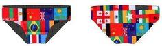 Racing Briefs - Flags
