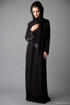 UAE Abayas Collection For Islamic Women 2014-2015 | Moda 2014-2015