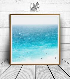 Beach photography Beach photo print seaside photo ocean