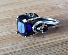 Vintage Antique 925 Sterling Silver turkish Revers Style Rings Size 7    eBay