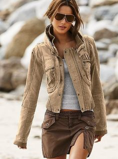 cute jacket. <3 Fashion Style