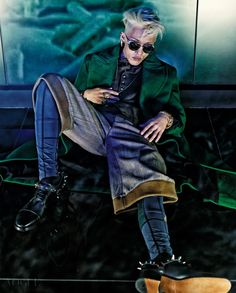 Zion.T for Vogue Korea September 2015.