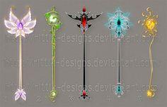 Staff designs 21 by Rittik-Designs