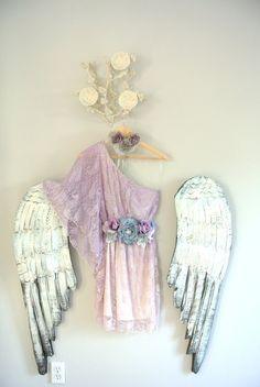 Ombre lace dress one shoulder boho dress by TrueRebelClothing, $78.00