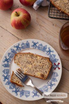 NL - paleo appel-notenbrood