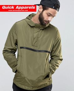 http://www.quickapparels.com/stylish-over-the-head-men-windbreaker-in-khaki.html
