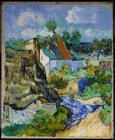 landscape by Van Gogh, 1890