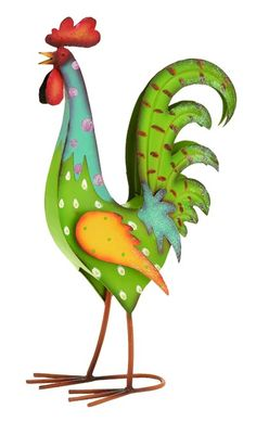 Colorful Whimsical Rooster#21.85