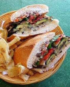 The Vegan Muffuletta Sandwich. So delicious!