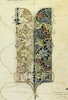 William Morris 'columbine' 1876 by Design Decoration Craft, via Flickr