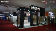 Angraex Angramar exhibiting at the 2014 Vitória Stone Fair. Held in Espirito Santo the Latin America Marmomacc event attracted 25,000 visitors during the four days including 2,405  international visitors from 60 countries.