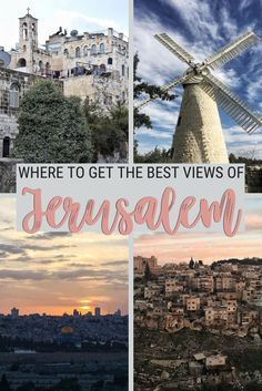 Jerusalem is an incredible city, from whichever perspective you look at it. One of the nicest things to do in Jerusalem is actually getting in the fabulous views. Read this post to discover the best lookout points in Jerusalem, and when the best time to go is | Views of Jerusalem | #jerusalem #israel via @clautavani
