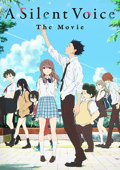 A Silent Voice (Blu-ray) Film Anime, Anime Titles, Anime Characters, Manga Anime, Voices Movie, Wallpaper Animé, Top 10 Best Anime, A Silent Voice Anime, Poster Anime