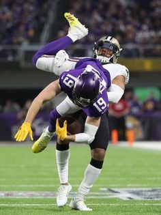 572e73c91c Vikings wide receiver Adam Thielen catches a pass against Nfl Playoffs,  Sports Images, Wide