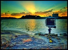 Wanting to create a time-lapse on your GoPro? Here's your five step guide to becoming a pro GoPro time lapse photographer and videographer. Gopro Diy, Gopro Drone, Gopro Camera, Leica Camera, Nikon Dslr, Camera Gear, Film Camera, Gopro Photography, Travel Photography