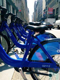 Citi Bikes #nyc #travel