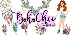 Boho Chic - Free Printable
