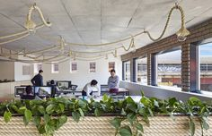Built by Kavellaris Urban Design in Cremorne, Australia with date Images by Peter Clarke. This converted inner city design studio was originally a conventional undersigned commercial office space with little. Australian Interior Design, Interior Design Awards, Interior Ideas, Interior Styling, Yogyakarta, Staining Wood Cabinets, Industrial Office Design, Industrial Interiors, Urban Design Plan