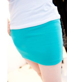 Chicnova Candy Color Stretch Mini Skirts