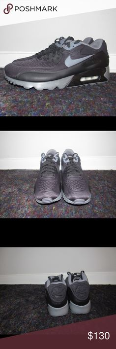 outlet store 7a6cb 9bb47 AIR MAX 90 ULTRA SE BLACK GREY MENS SIZE 10 - Brand New Nike Air Max